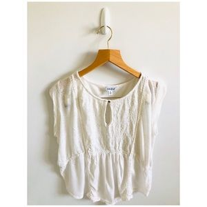 Lucky Brand Short Sleeve Top XL